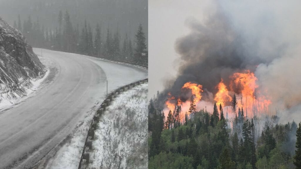 Photos Cameron Peak Fire Surpasses 100k Acres As Snow Moves In From Wyoming Casper Wy Oil City News